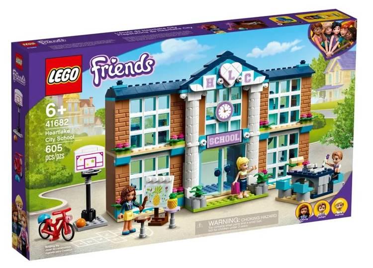 LEGO FRIENDS 41682 Hārtleikas Pilsētas Skola