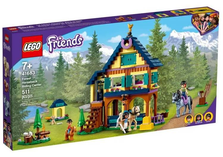 LEGO FRIENDS 41683 Zirgu Izjāžu Centrs Mežā