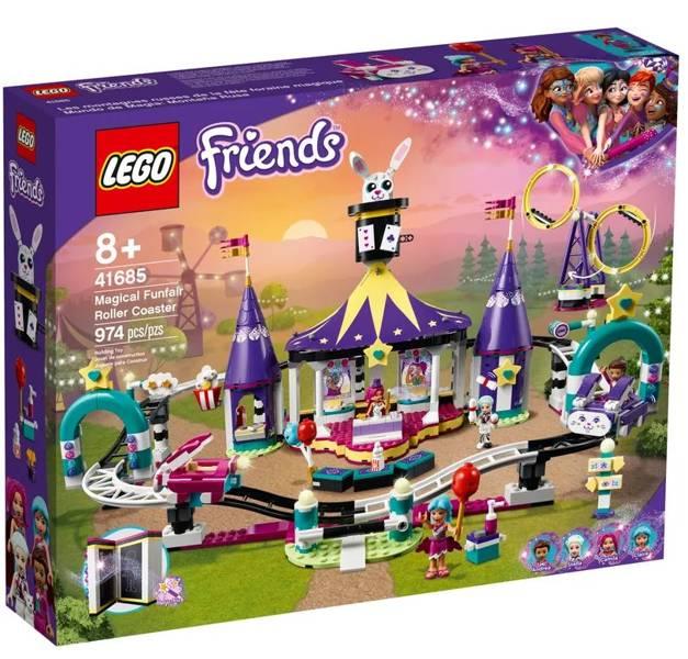 LEGO FRIENDS 41685 Maģiskā Izklaides Parka Atrakcija