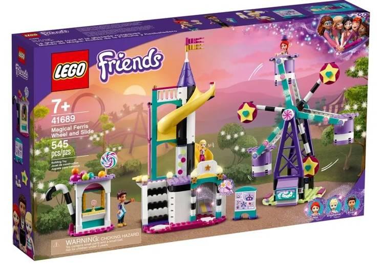 LEGO FRIENDS 41689 Maģiskais Panorāmas Rats un Slidkalniņš