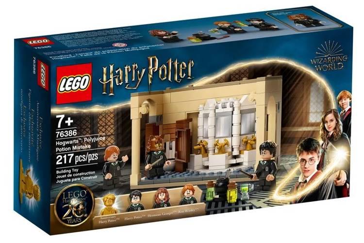 LEGO HARRY POTTER 76386 Hogwarts: Daudzkomponentu Mikstūras Kļūda