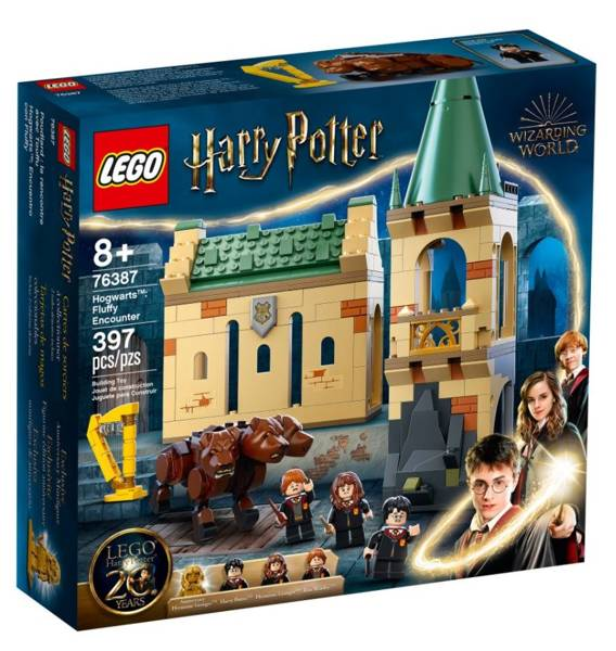 LEGO HARRY POTTER 76387 Hogwarts: Sastapšanās ar Pūkainīti