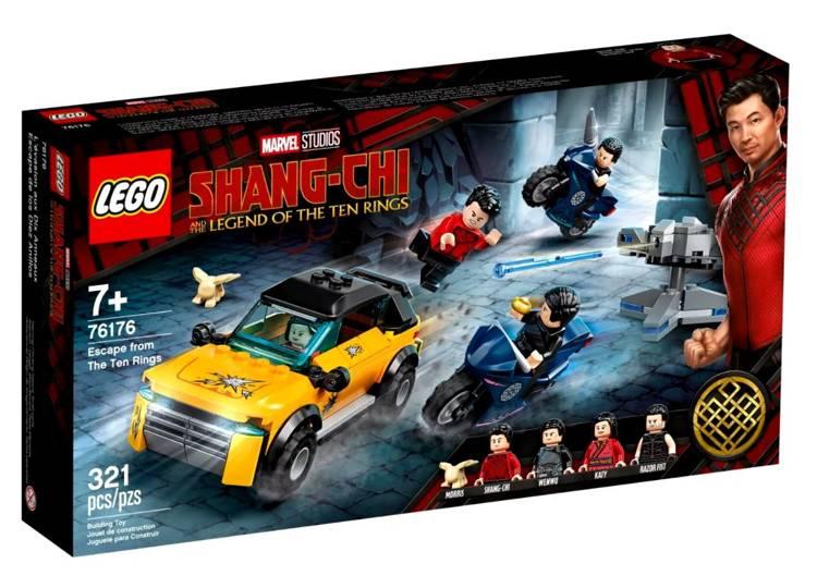 LEGO MARVEL 76176 Bēgšana no Desmit Gredzeniem