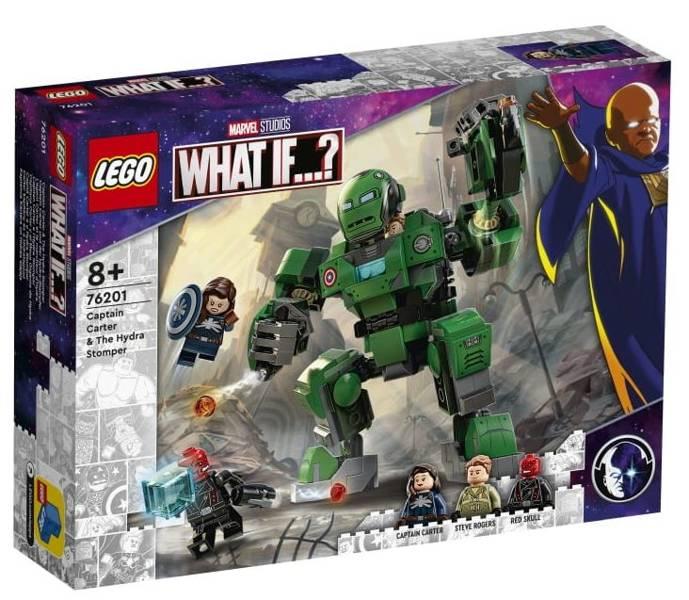 LEGO MARVEL 76201 Kapteinis Kārters un Hidras Slājējs