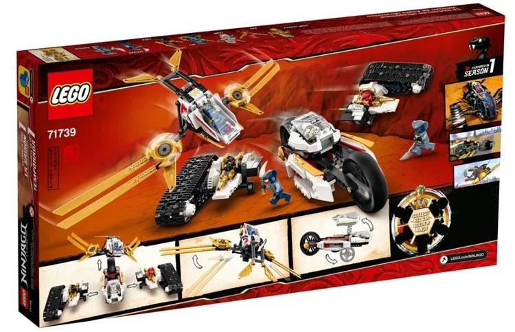 LEGO NINJAGO 71739 Ultraskaņas Transportlīdzeklis
