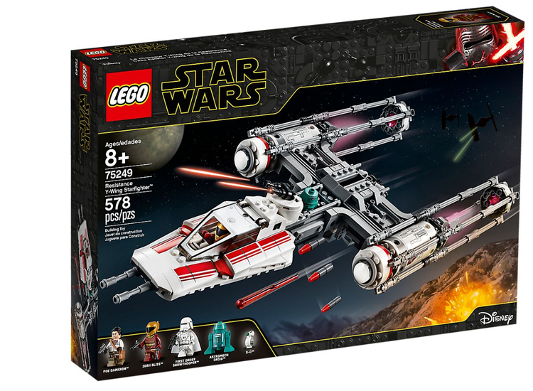LEGO STAR WARS 75249 Resistance Y-Wing Starfighter™