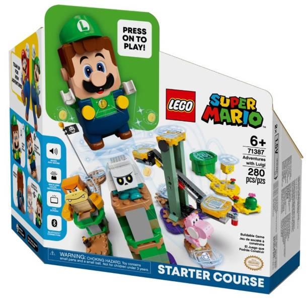 LEGO SUPER MARIO 71387 Piedzīvojumi ar Luigi: Sākuma Maršruts