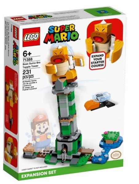 LEGO SUPER MARIO 71388 Bosa Sumo Bro Krītošais Tornis