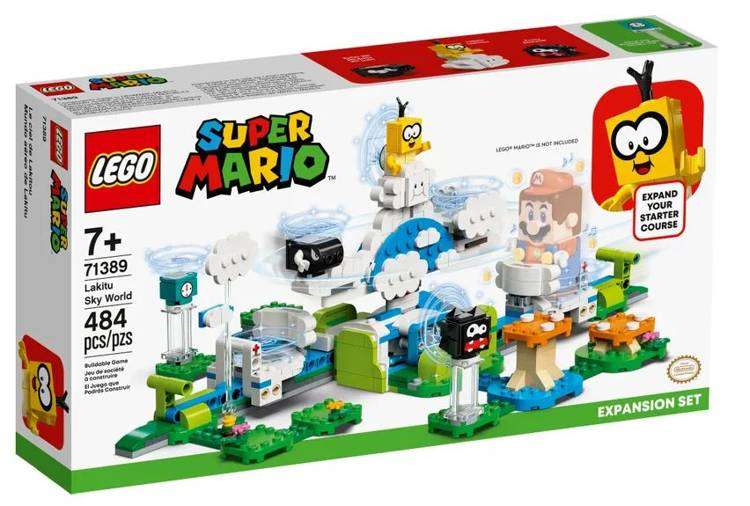 LEGO SUPER MARIO 71389 Lakitu Debesu Pasaule