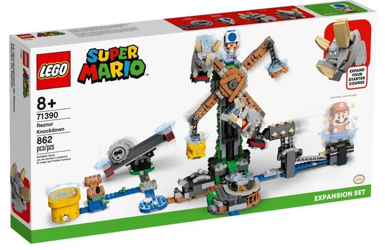 LEGO SUPER MARIO 71390 Reznora Nokdauns