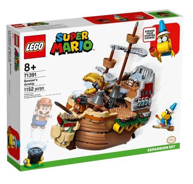 LEGO SUPER MARIO 71391 Bowser Gaisa Kuģis