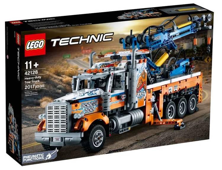 LEGO TECHNIC 42128 Jaudīgais Vilcējauto
