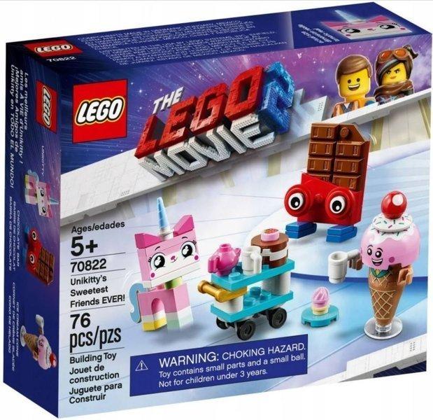 LEGO THE MOVIE 70822 Vienradžkaķītes Vissaldākie Draugi