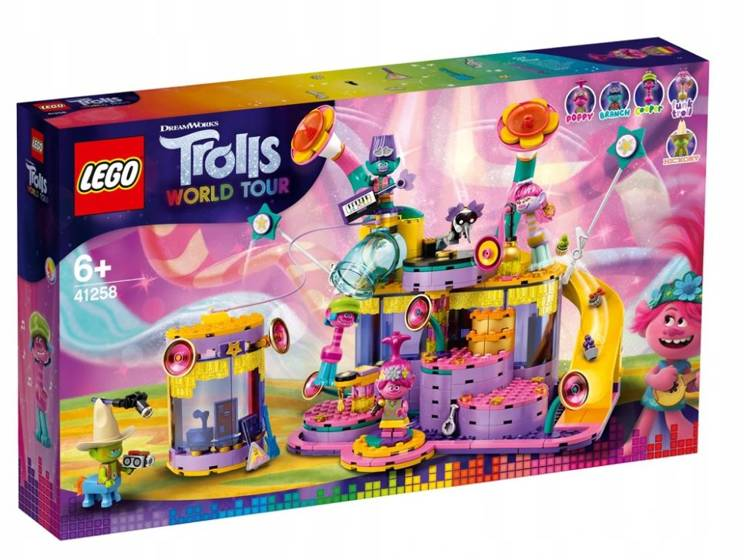 LEGO TROLLS 41258 Vibe City Koncerts
