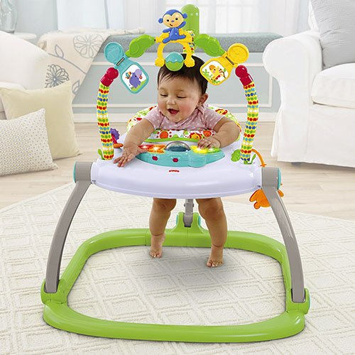 lēkātājs Fisher Price Rainforest Spacesaver Jumperoo CHN38