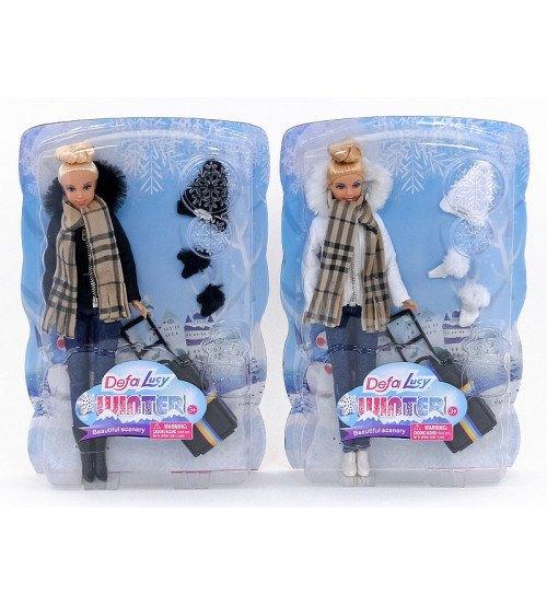 Lelle Lusija ar ziemas apģerbiem un aksesuāriem 499393