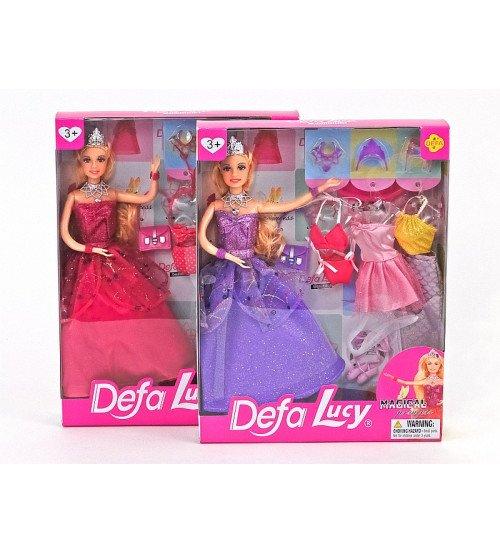 Lelle Lusija princese ar tērpiem 439719
