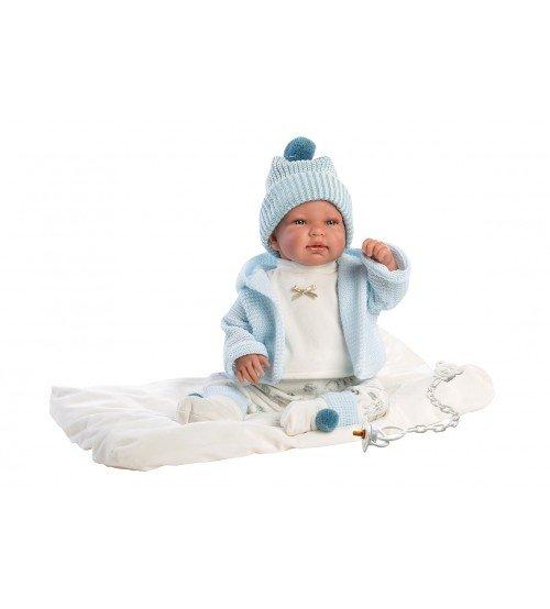 Lelle mazulis interaktīvā ar skaņu zēns 43 cm Llorens Tino Spānija LL84429