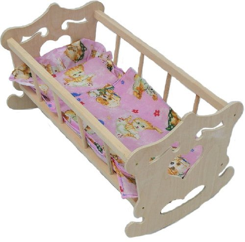 Leļļu gulta-šūpulis Sirsniņa MALIMAS 4422
