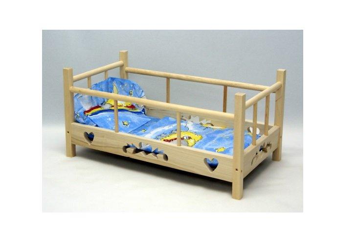 Leļļu gultiņa MALIMAS WZOREK 4255