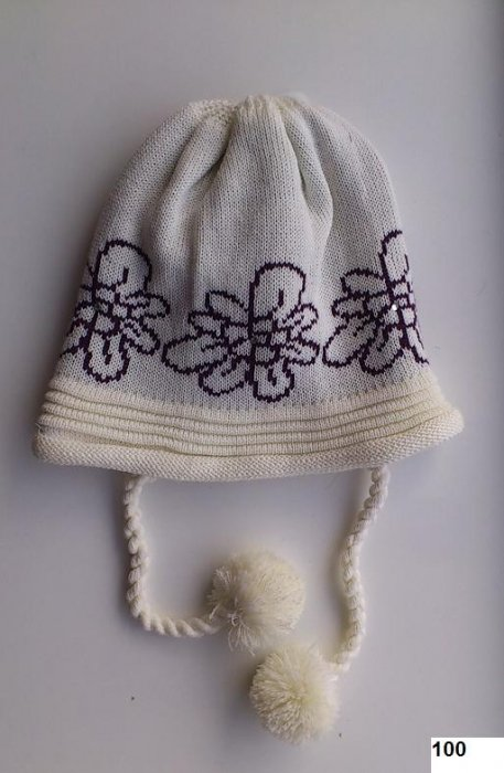 LENNE '14 - Meiteņu siltā ziemas cepure Polly Аrt.13385 krāsa 100