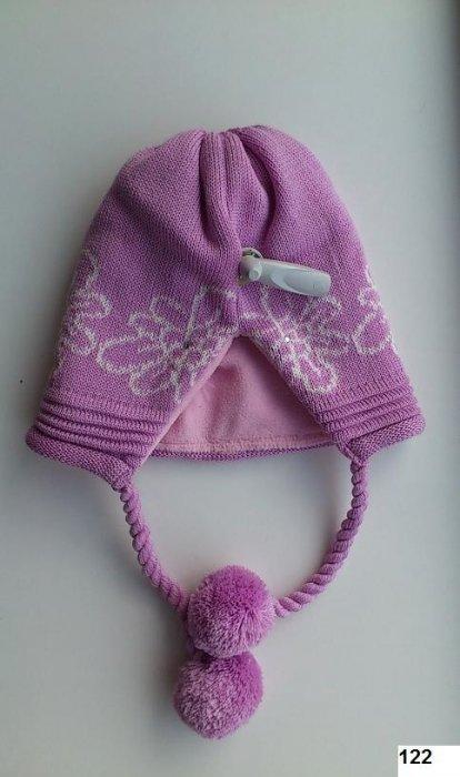 LENNE '14 - Meiteņu siltā ziemas cepure Polly Аrt.13385 krāsa 122