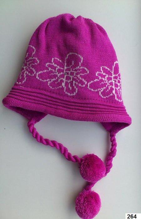 LENNE '14 - Meiteņu siltā ziemas cepure Polly Аrt.13385 krāsa 264