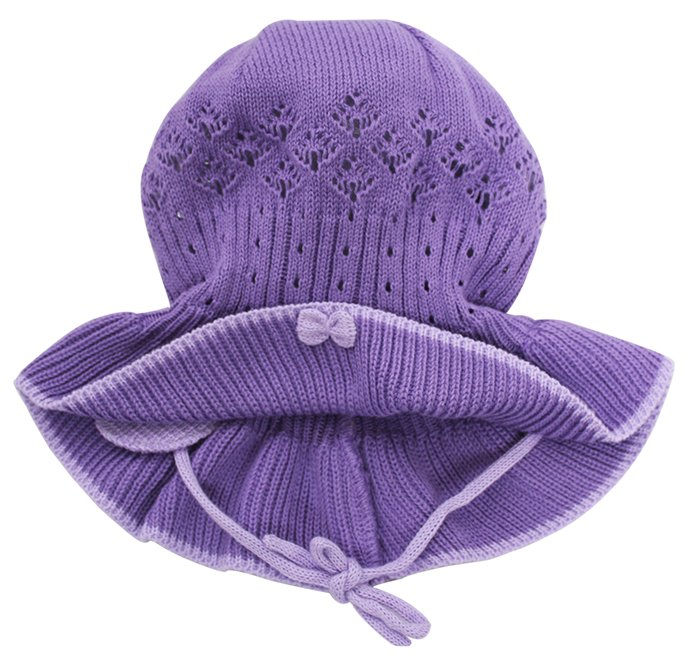 Lenne'14 Paula Art.14241-164 Knitted cap Mazuļu adīta kovilnas cepure sasienamā