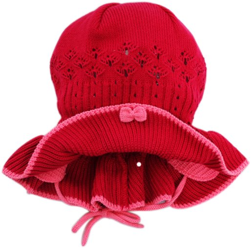 Lenne'14 Paula Art.14241-203 Knitted cap Mazuļu adīta kovilnas cepure sasienamā
