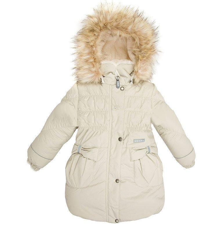 LENNE '15 Coat Coral 14333/505 Bērnu siltā ziemas termo jaciņa-mētelis [jaka]