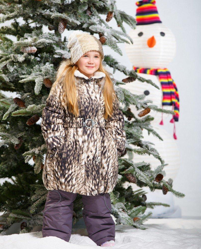 LENNE '15 Coat Sonja 14335/5060 Bērnu siltā ziemas termo jaciņa-mētelis [jaka]
