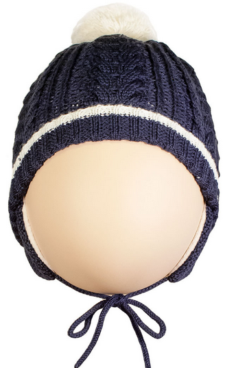 Lenne'15 Knitted Hat Brett Art.14377/229 Mazuļu siltā cepure