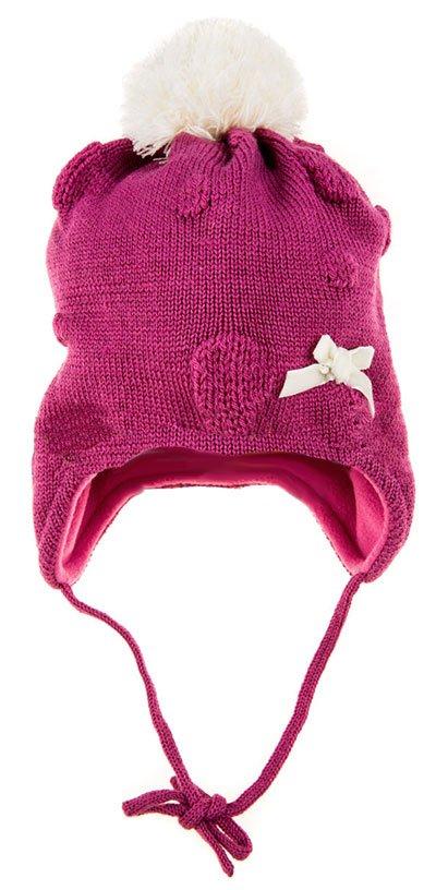 Lenne '15 Knitted Hat Mammu Art.14376/271 Meiteņu siltā cepure