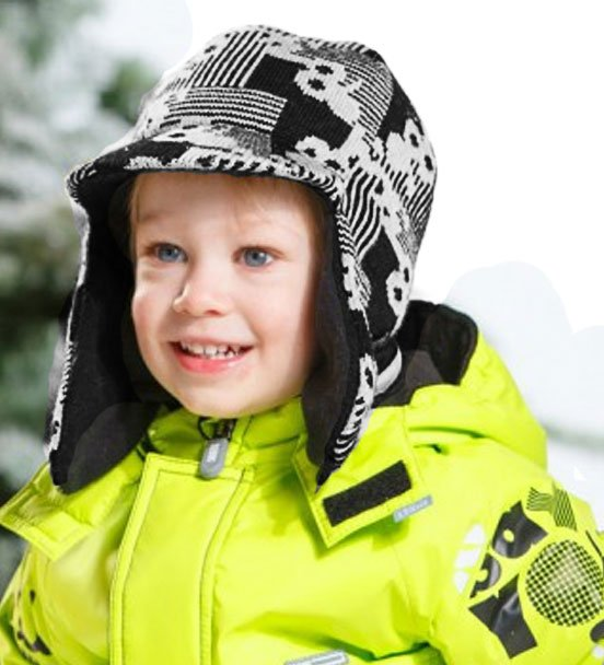 Lenne'15 Knitted Hat Rain Art.14390/470 Bērnu siltā cepure