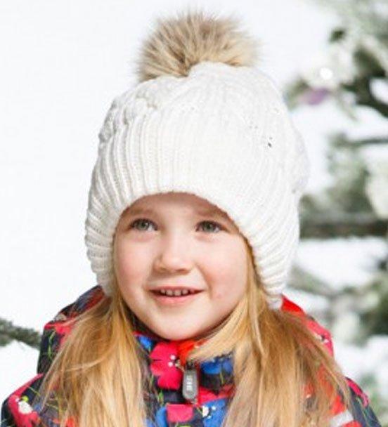 Lenne'15 Knitted Hat Rhea Art.14391/100 Bērnu siltā cepure