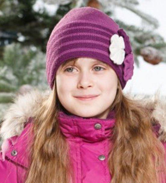 Lenne'15 Knitted Hat Rosita Art.14393/605 Bērnu siltā pusvilnas cepure