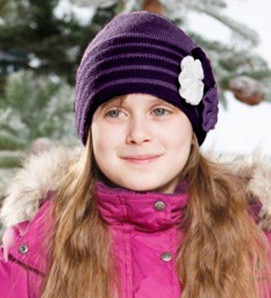 Lenne'15 Knitted Hat Rosita Art.14393/6190 Bērnu siltā pusvilnas cepure