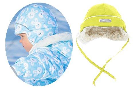 LENNE'15 Tim 14782-108 Thermo cap Mazuļu termo pusvilnas cepure sasienamā