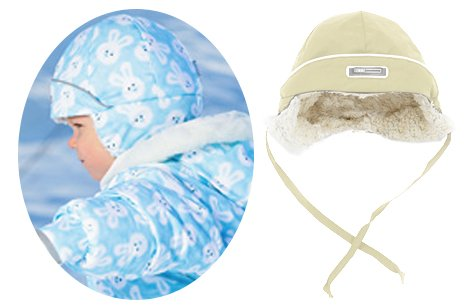 LENNE'15 Tim 14782/15782-505 Thermo cap Mazuļu termo pusvilnas cepure sasienamā