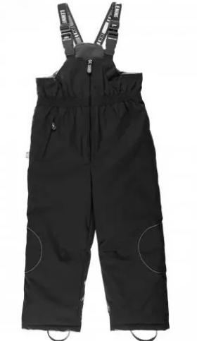 Lenne '17 Harriet Art.16353/042 Black Bērnu ziemas termo bikses ar paaugstinātu vidukli krāsa: 042