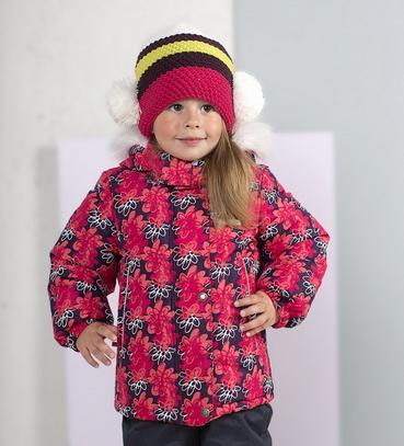 Lenne'17 Knitted Hat Reena Art.16386/264 Mazuļu siltā ziemas cepure