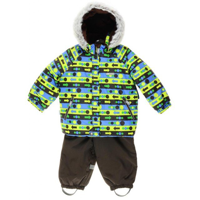 Lenne '17 Stripe Art.16318/8160 Silts mazuļu ziemas termo kostīms Jaka un bikses