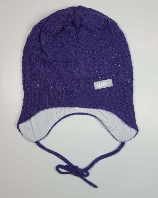 Lenne '18 Art.17245/363 Diane Mazuļu adīta kokvilnas cepure