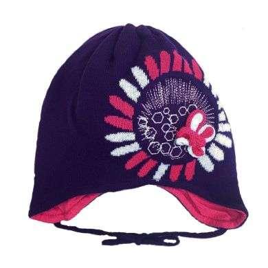 Lenne '18 Art.18244/611 Florela Mazuļu adīta kokvilnas cepure