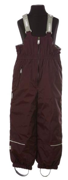 Lenne Basic Bērnu ziemas termo bikses ar paaugstinātu vidukli krāsa: 816
