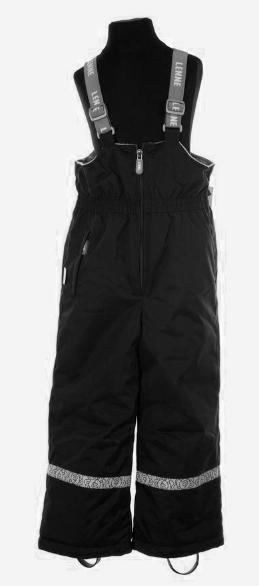 Lenne Heidi Bērnu ziemas termo bikses ar paaugstinātu vidukli krāsa: 042