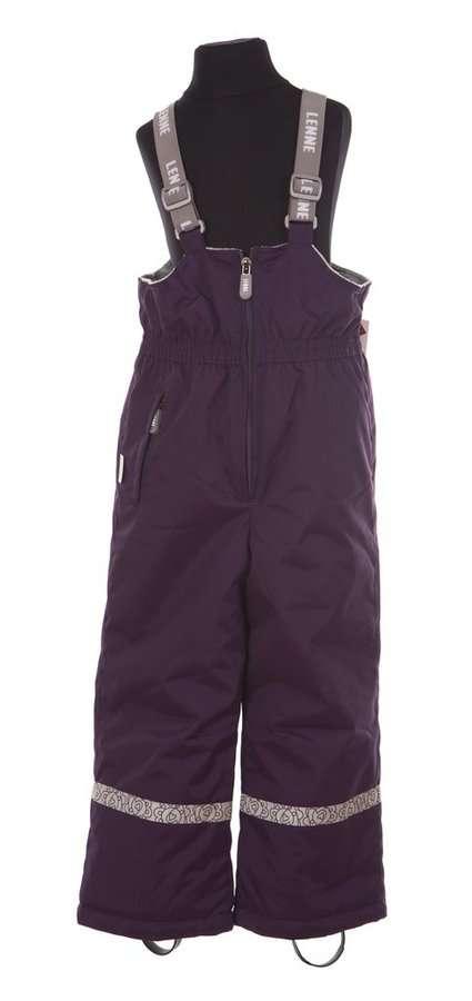 Lenne Heidi Bērnu ziemas termo bikses ar paaugstinātu vidukli krāsa: 619