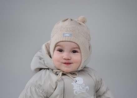 Lenne Knitted Hat Brigs Mazuļu siltā ziemas cepure