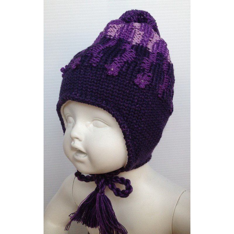 Lenne Knitted Hat Pamela Mazuļu siltā ziemas cepure