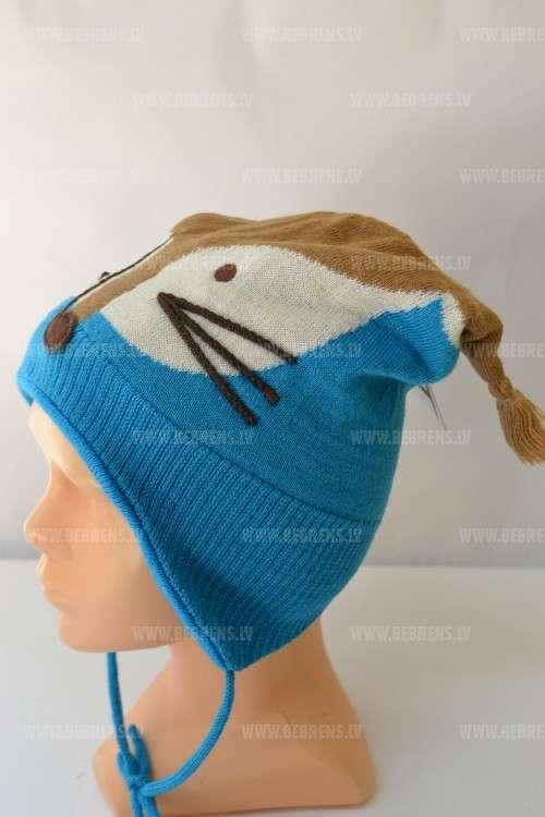 Lenne Knitted Hat Refox Mazuļu siltā cepure
